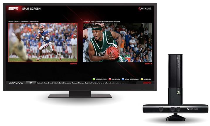 ESPN Split Screen