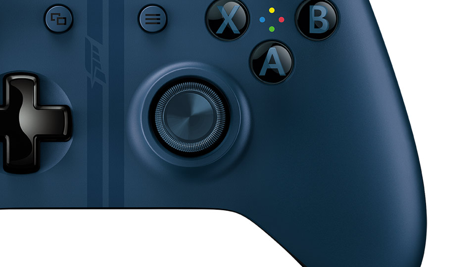 Forza Motorsport 6 Wireless Controller close-up bottom thumbnail
