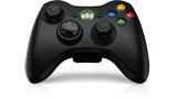Xbox 360 Wireless Controller front tilt view thumbnail