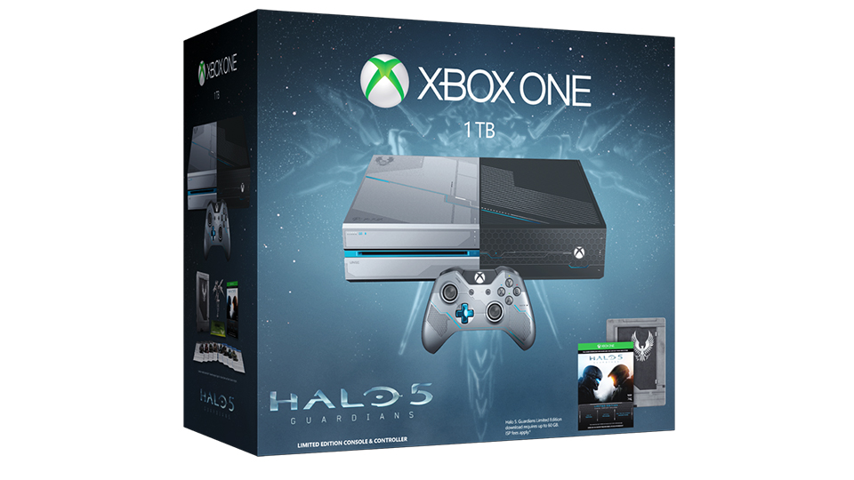 Xbox One Halo 5 Guardians Console