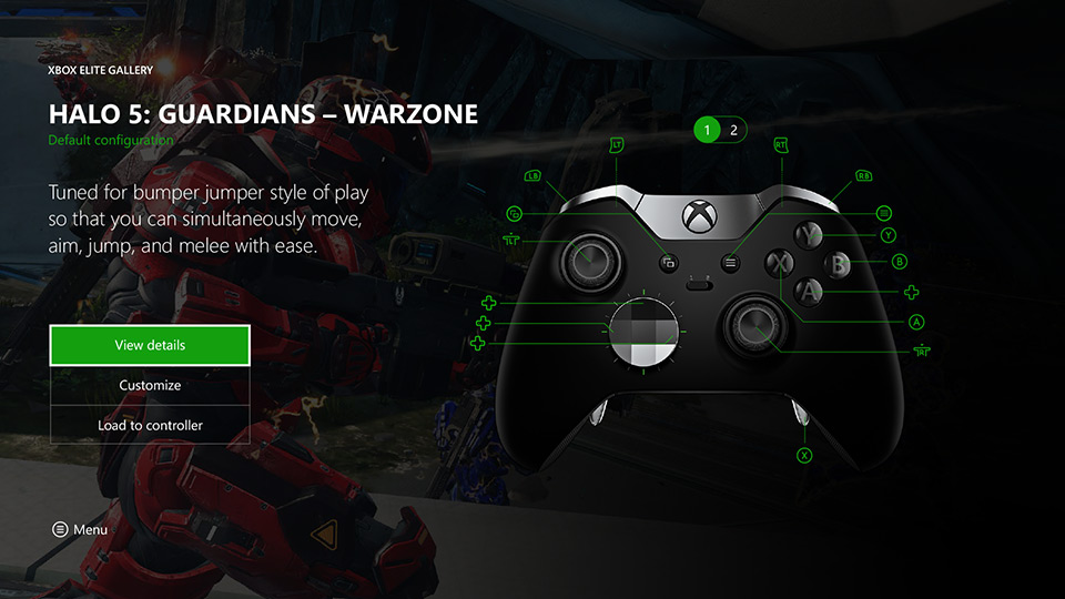 Xbox Elite Gallery – Halo 5: Guardians - Warzone View Details View