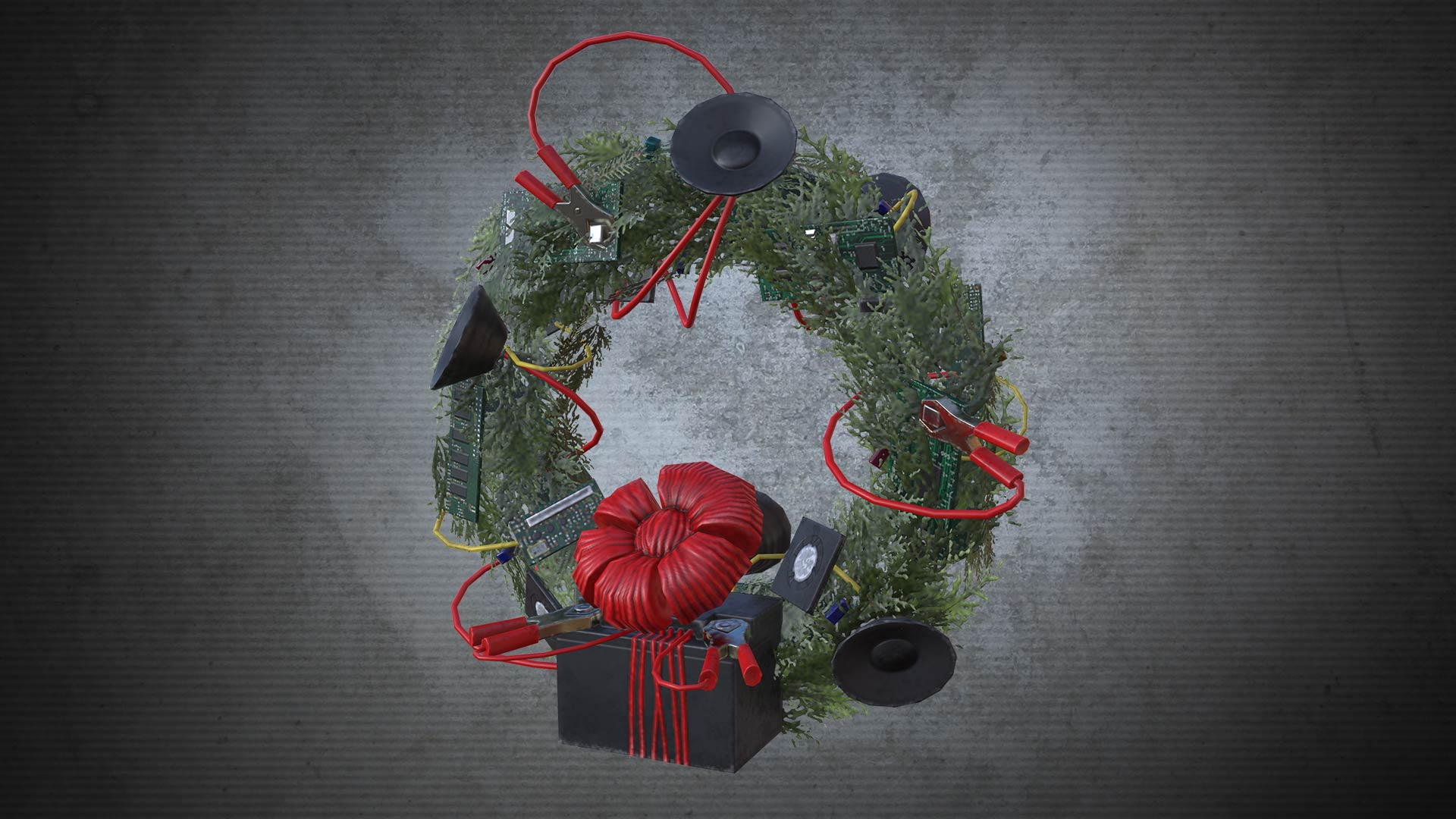Dead Rising 4 electric wreath