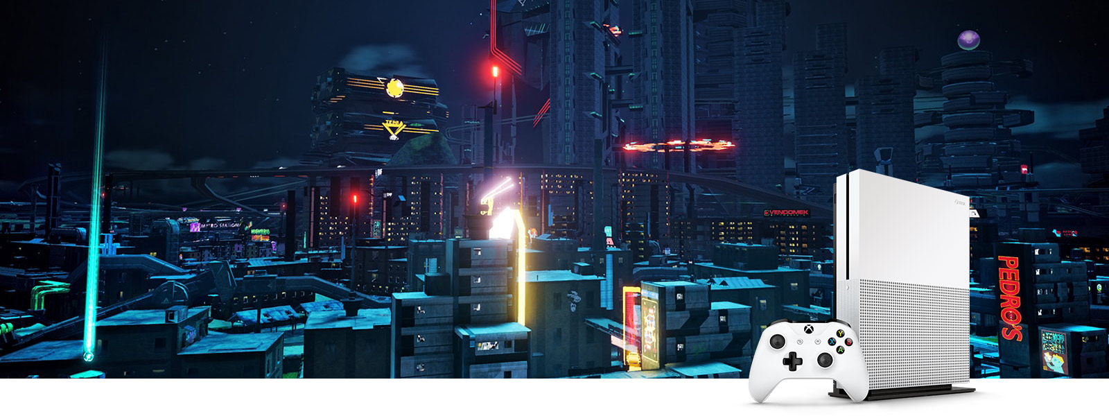 Crackdown 3 screenshot with HDR