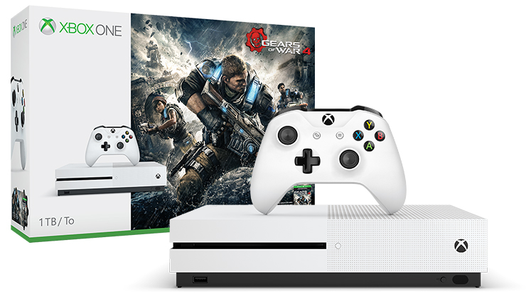 Xbox One S Gears of War 4 Bundle (1TB)