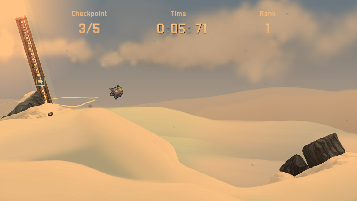 Cobalt Racing Screenshot
