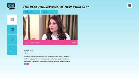The Real Housewives of New York City on Bravo Now