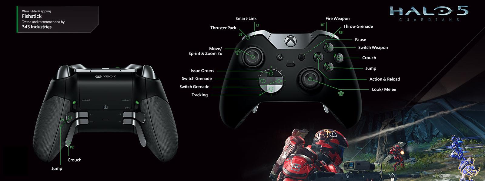 Halo 5 – Fishstick Elite Mapping