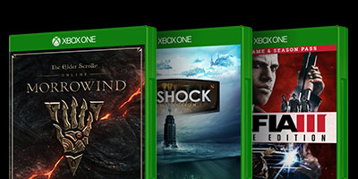 Weekly Game Deals - Morrowind Bioshock Mafia 3