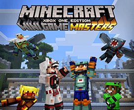 Paquete de aspecto Minecraft Mini Game Masters