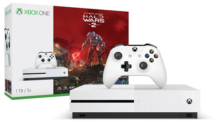 Xbox One S Halo Wars 2 Bundle (1TB)
