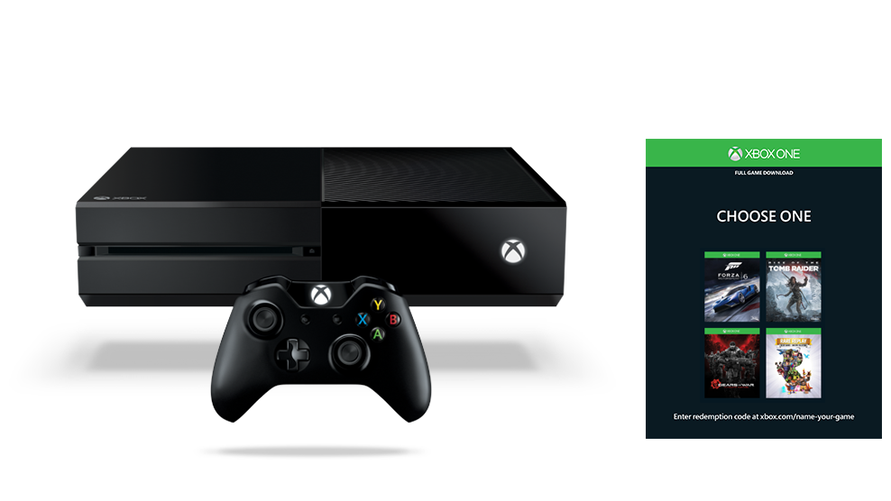 Xbox One Name Your Game Bundle (500GB)