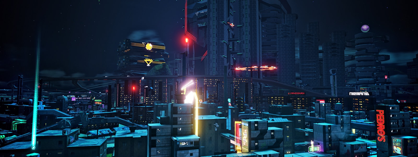 Captura de pantalla de Crackdown 3 con HDR