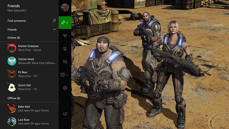 Lista de amigos de Xbox Live
