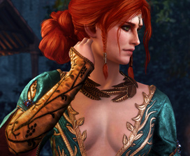The Witcher 3 Triss Alternative Look