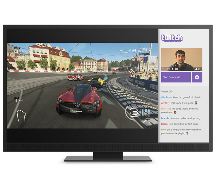 Twitch and multiplayer on Xbox One