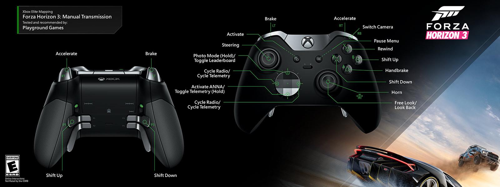 Forza Horizon 3 – Manual Transmission Elite Mapping