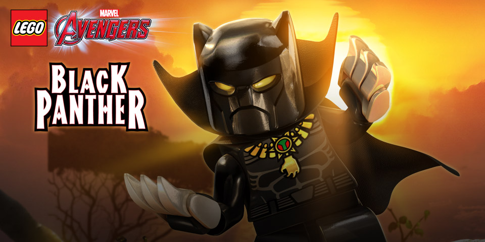 Lego Marvel Avengers Black Panther