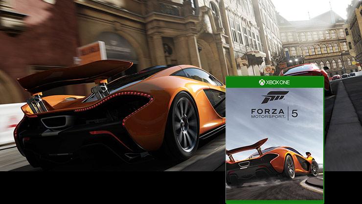 Immagine della confezione di Forza Motorsport 5