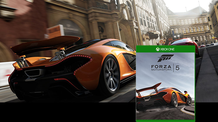 Imagen de la caja de Forza Motorsport 5