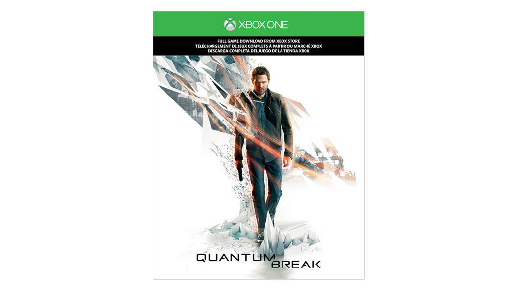Quantum Break Game Card