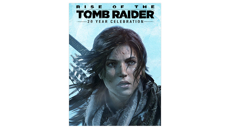 Rise of the Tomb Raider 20 Year Edition Boxshot