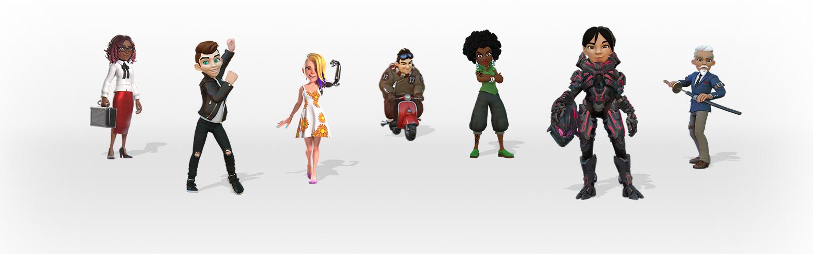 Avatars on Xbox Live