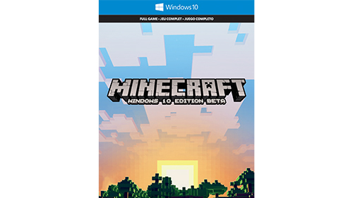 Бета-версия Minecraft: Windows 10 Edition