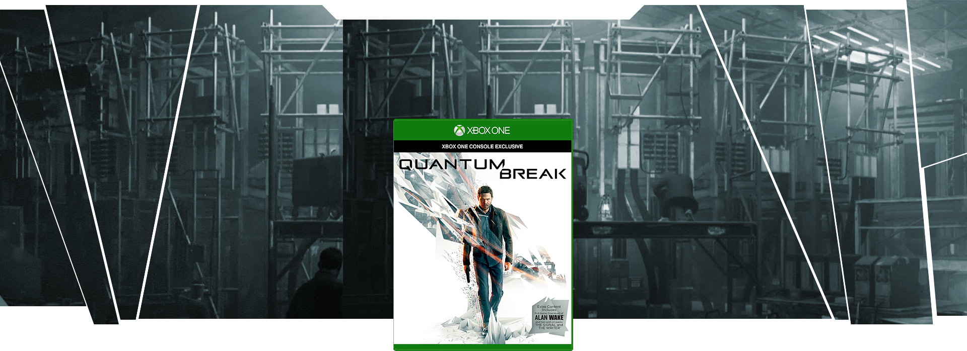 Quantum Break 包裝圖