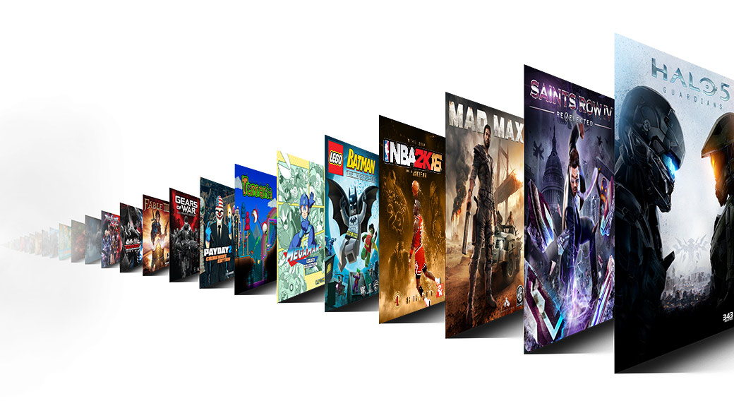Game Pass featured games