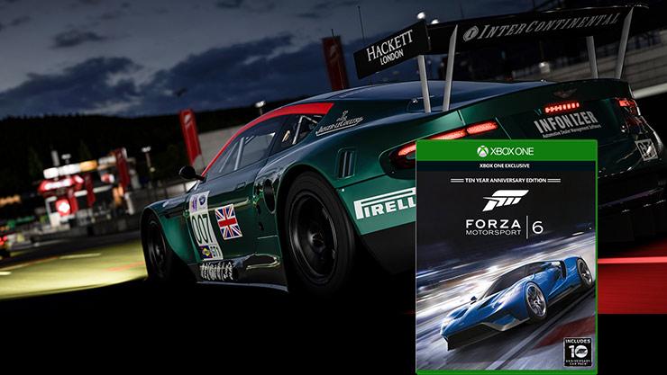 Forza Motorsport 6 – Verpackung