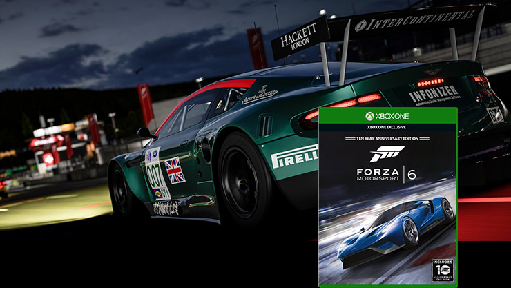 Forza motorsport 6 boxshot