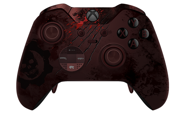 Trådløs Xbox Elite-controller - Gears of War 4 Limited Edition
