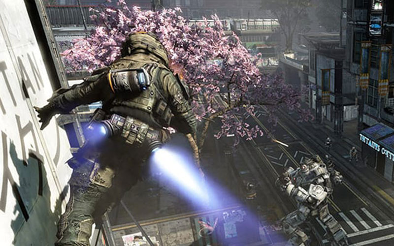 titanfall gameplay screenshot