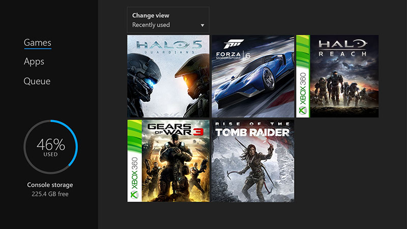 Xbox 360 games on Xbox One play for free