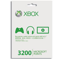 Xbox LIVE 3200 Microsoft Points