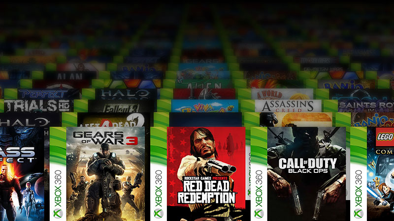 Xbox 360 Games On Xbox One : Xbox games
