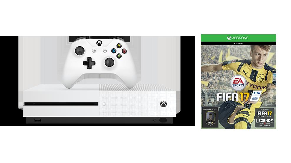 Zestaw Xbox One S FIFA 17 (1 TB)