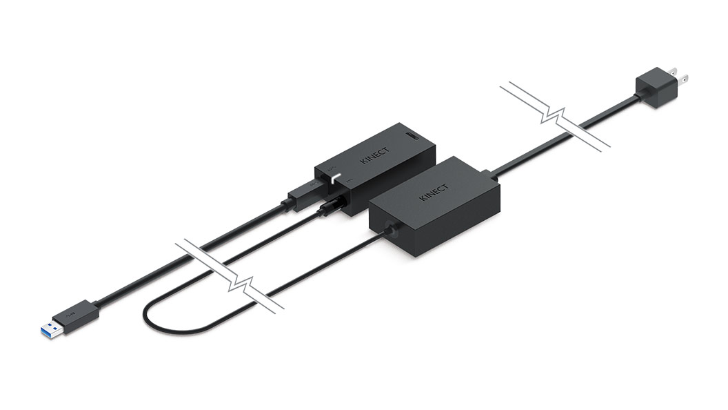 Kinect Adapter front view