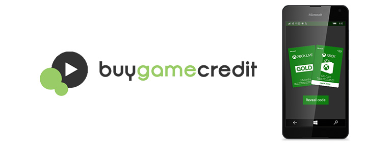 Buy game credit using your mobile phone.