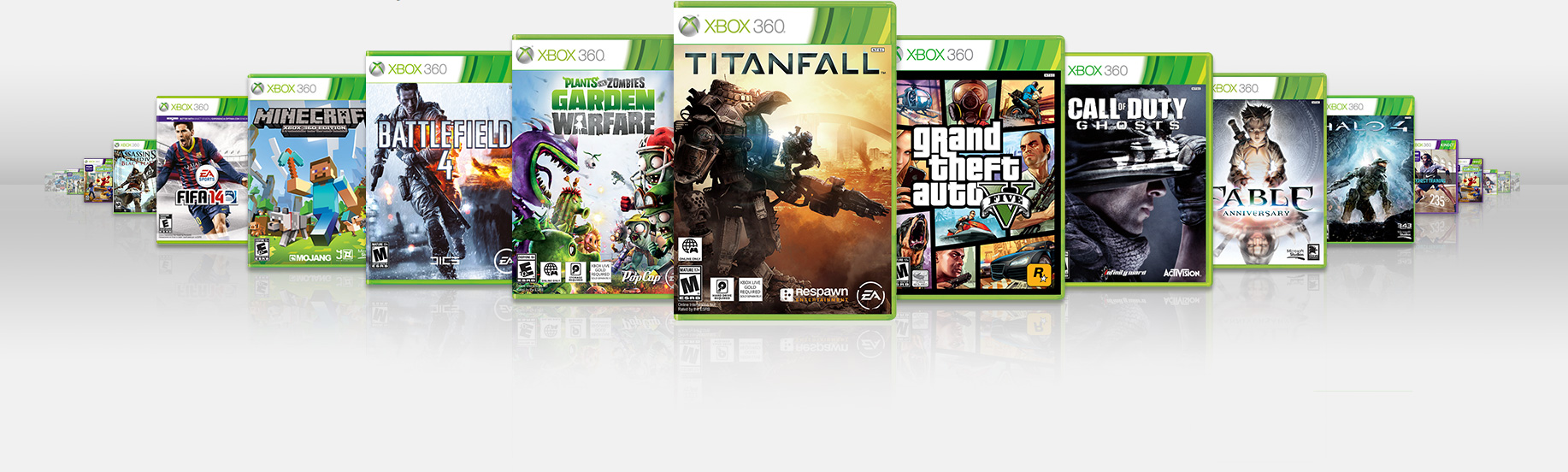 Xbox 360 has thousands of games.