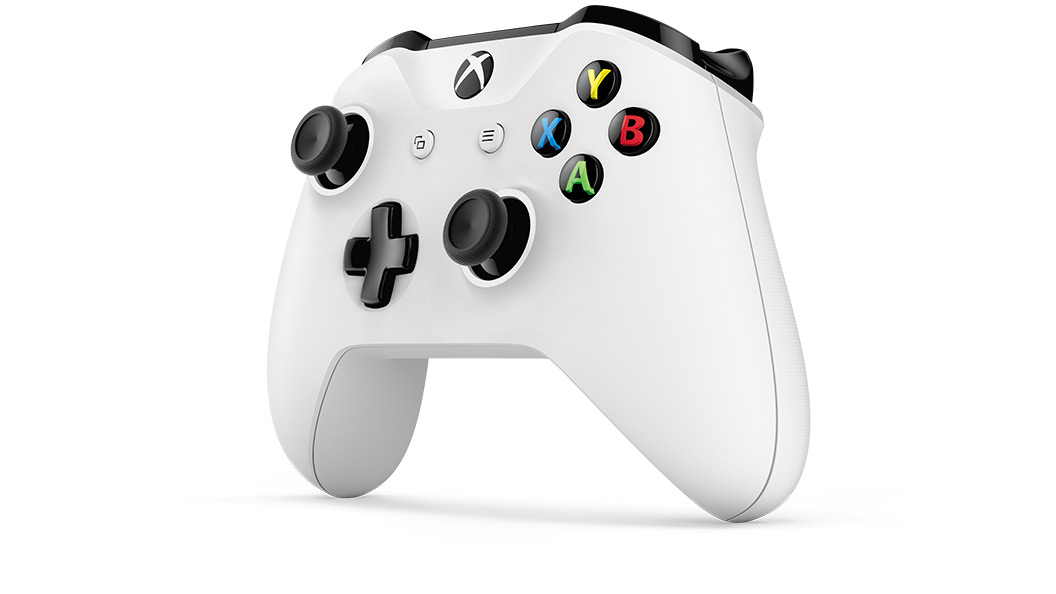 Left angle view of Xbox Wireless Controller