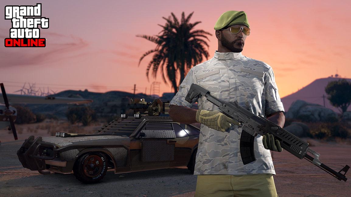 Gunrunning now in GTA Online