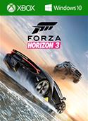 Forza Horizon 3 包装盒