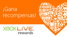 Gana recompensas con Xbox LIVE Rewards