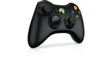 Xbox 360 Wireless Controller right angle view thumbnail