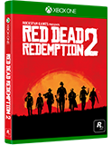 Red Dead Redemption 2 Xbox One 包裝盒設計