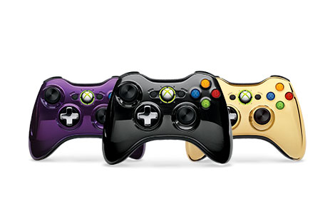 Xbox 360 Special Edition Chrome SeriesWireless Controller