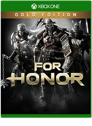For Honor Gold Edition, bild på förpackning