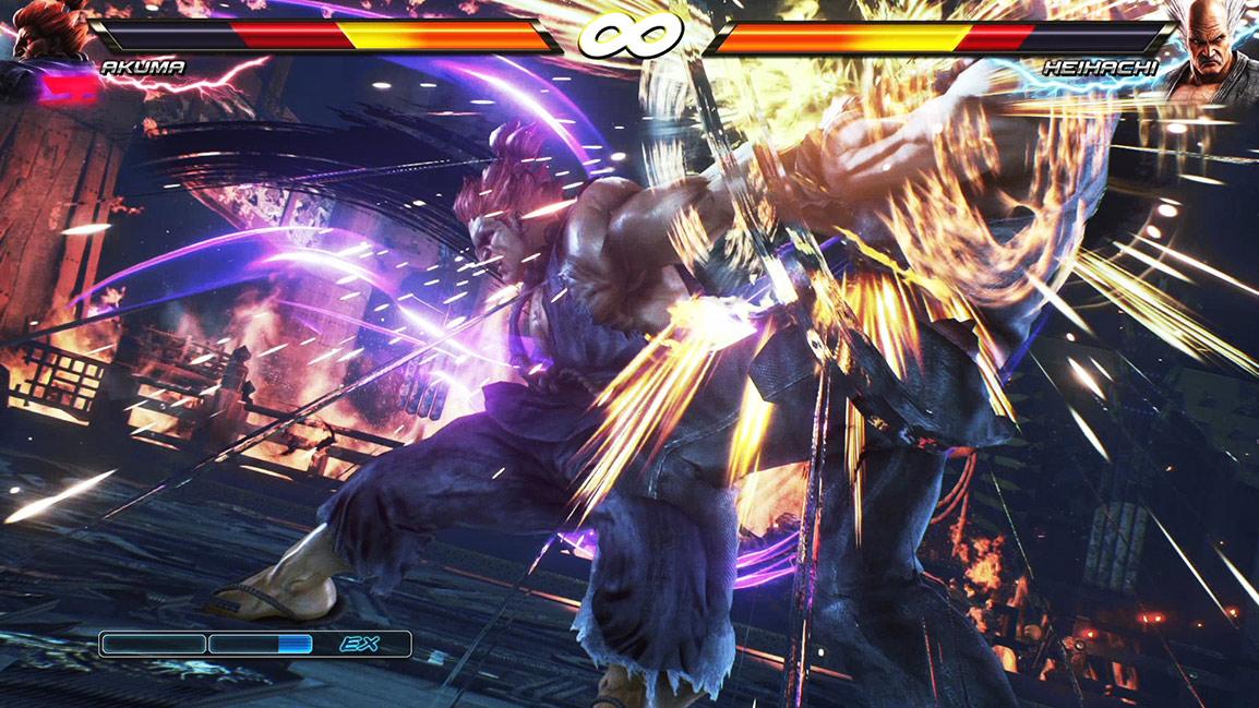 Akuma gegen Heihachi