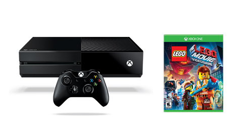 Xbox One The LEGO Movie Videogame Bundle (500GB)